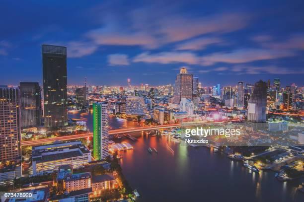 Chao Phraya River Bangkok,Thailand