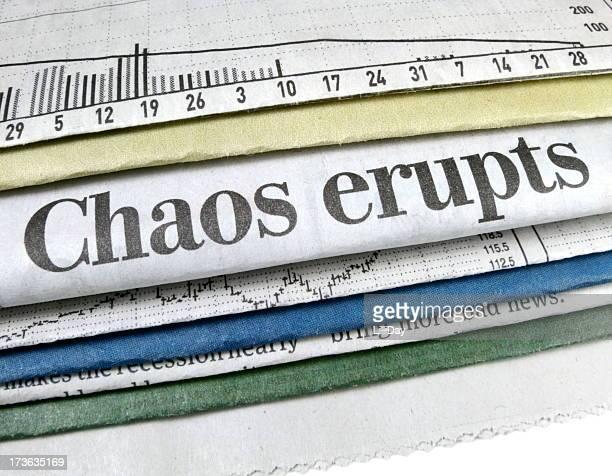 Chaos Erupts