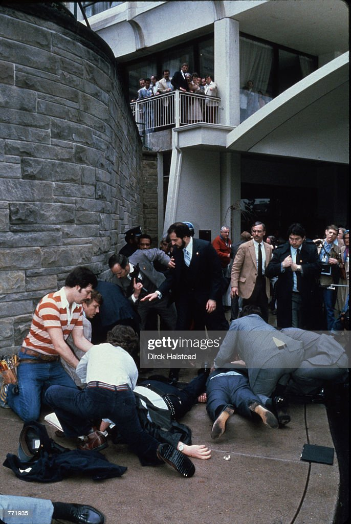 30 Mar 1981 President Reagan Is Shot And Wounded