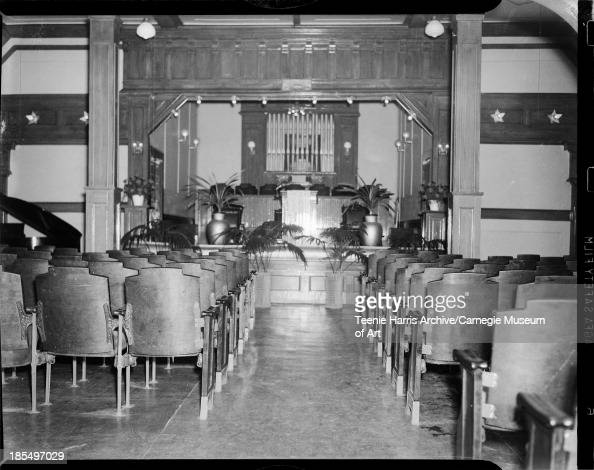 Gaines Funeral Home chapel Pictures   Getty Images. Funeral Home Chairs. Home Design Ideas