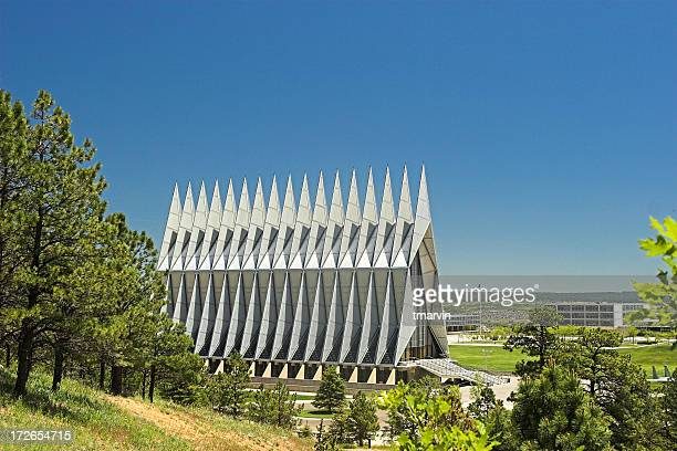 Chapel located at Air Force Academy