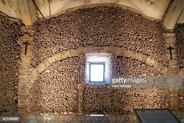 Chapel of Bones Evora Portugal Europe