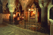 Chapel of St Helena Church of the Holy Sepulchre or Church of the Resurrection Old City of Jerusalem Israel