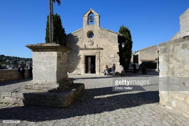 Chapelle des Penitents Blancs, or White Penitents Chapel, Les Baux-de-Provence, Les Alpilles, Provence