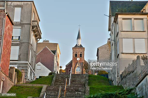 Chapels Onival of Ault in Somme department France