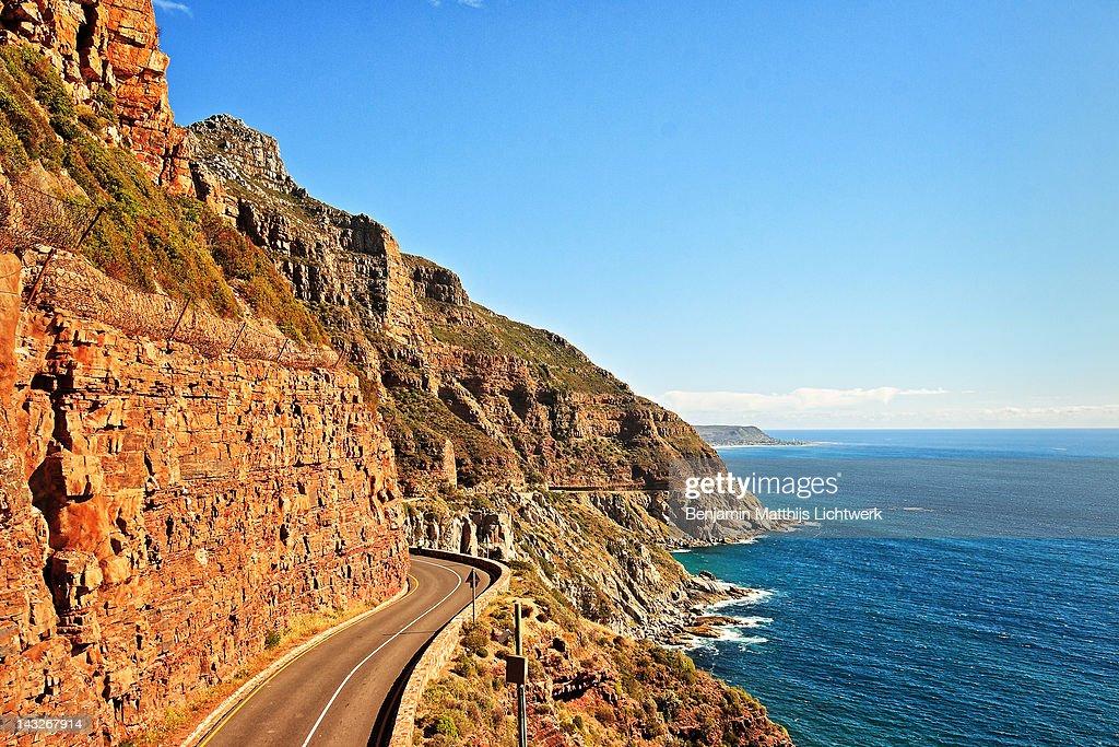 Chapmans peak drive : Stock Photo