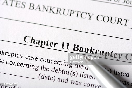 Chapter 11 Bankruptcy Paperwork