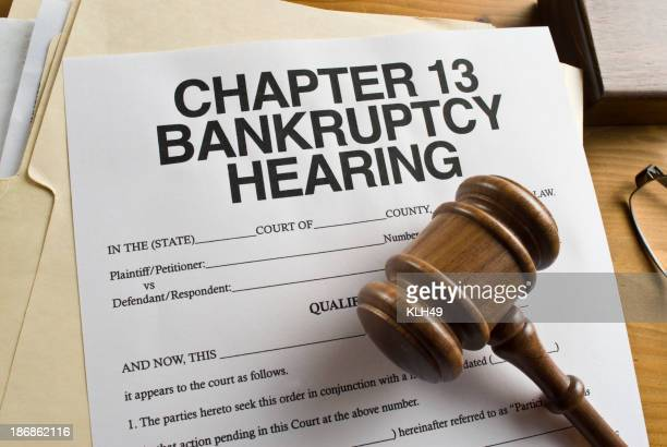 Chapter 13 Bankruptcy.