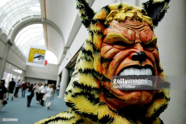 A character from the short film 'Closing Time' is seen at Comic Con International July 14 2005 in San Diego California Comic Con is the largest comic...