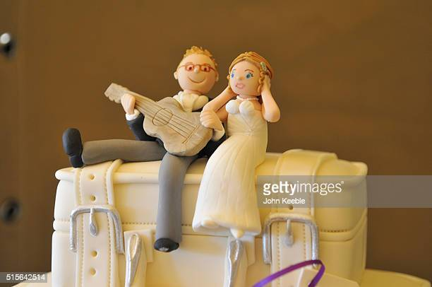 Character Themed Wedding Cake
