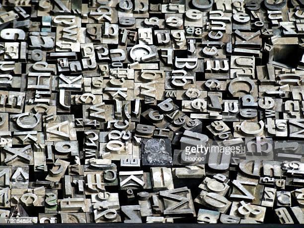 Caractères de typographie