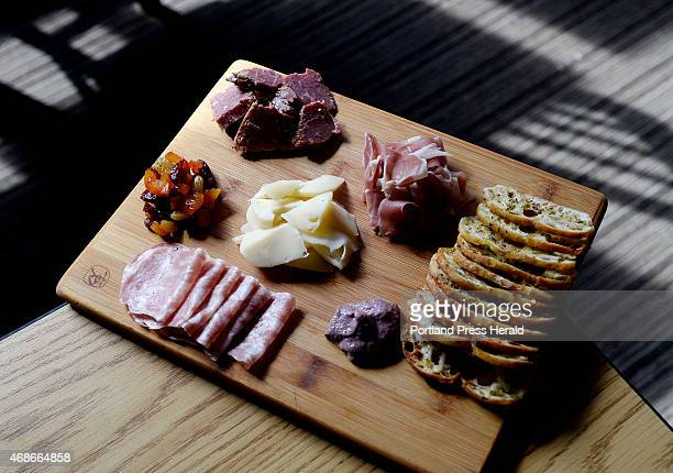 Charcuterie Plate at Marché Kitchen and Wine Bar in Lewiston Tuesday March 31 2015