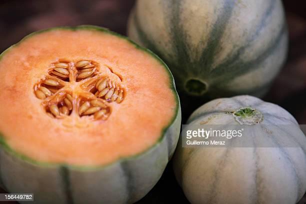 Charentais melone stock fotos und bilder getty images for Melone charentais