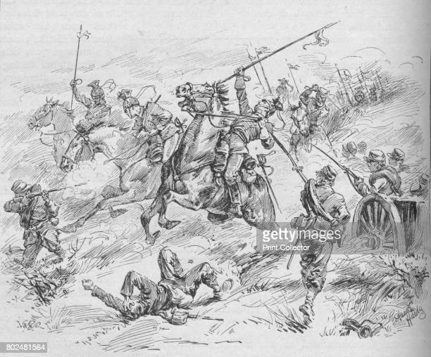 Charge of the 16th Uhlans' 1902 The Battle of MarsLaTour was fought on 16 August 1870 during the FrancoPrussian War From Battles of the Nineteenth...