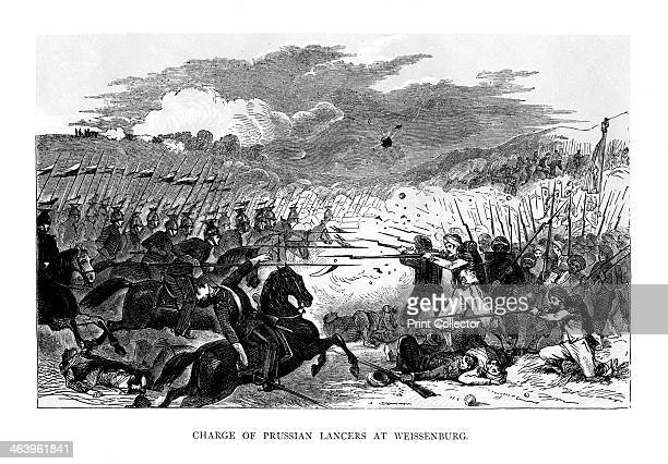 Charge of the Prussian Lancers at Weissenburg The Battle of Weissenburg was the first battle of the FrancoPrussian War