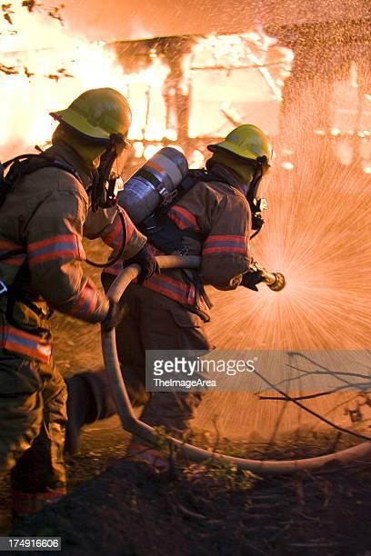 Charging Firemen