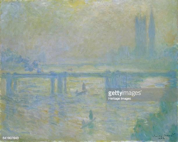 Charing Cross Bridge' 1902 Artist Claude Monet