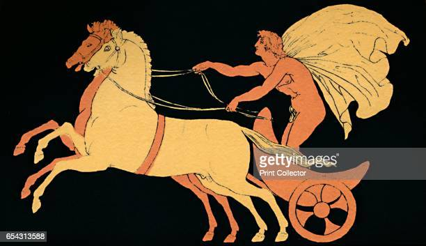 Chariot Race 1880 In Greek mythology Pelops king of Pisa in the Peloponnesus organised chariot races as thanksgiving to the gods and as funeral games...