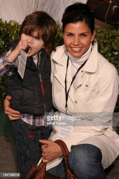 Charisma Carpenter and her son...