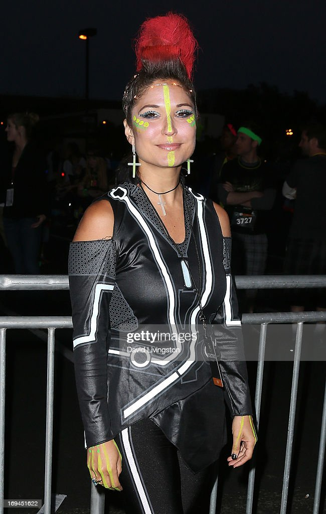 Charissa Saverio aka DJ Rap attends Electric Run LA at The Home Depot Center on May 24, 2013 in Carson, California.