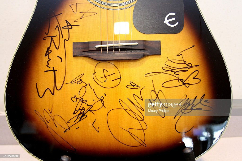Charities Signings during The 58th GRAMMY Awards at Staples Center on February 14, 2016 in Los Angeles, California.