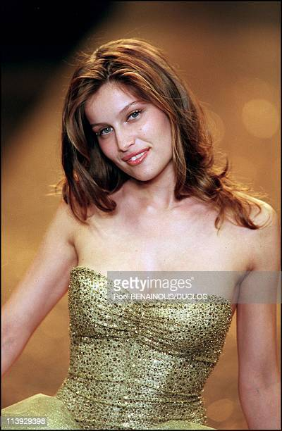 AMFAR charity gala evening the Victoria's Secret fashion show In Cannes France On May 18 2000Laetitia Casta