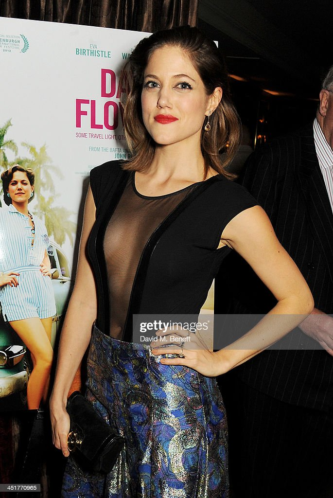 Charity Wakefield attends an after party celebrating the UK Premiere of 'Day Of The Flowers' at The Mayfair Hotel on November 24, 2013 in London, England.
