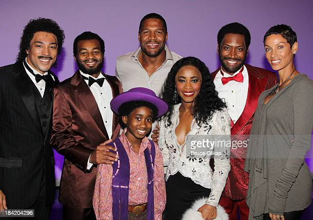 Charl Brown as 'Smokey Robinson' Brandon Victor Dixon as 'Berry Gordy' Raymond Luke Jr as 'Michael Jackson' Michael Strahan Valisia LeKae as 'Diana...