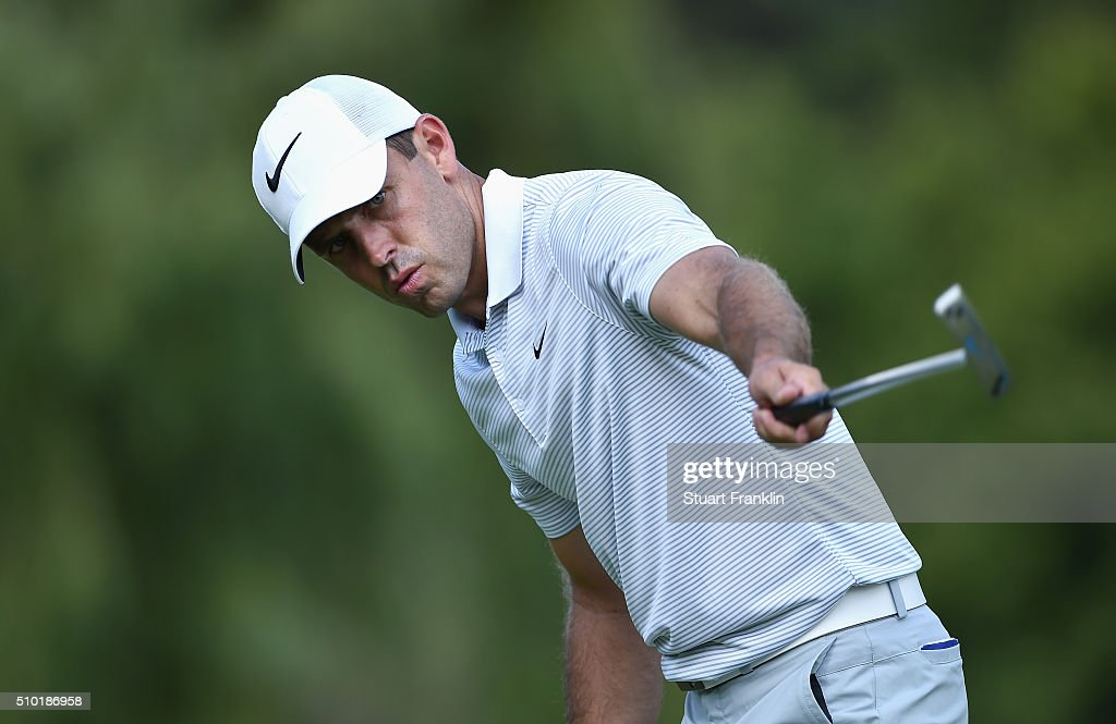 <a gi-track='captionPersonalityLinkClicked' href=/galleries/search?phrase=Charl+Schwartzel&family=editorial&specificpeople=213793 ng-click='$event.stopPropagation()'>Charl Schwartzel</a> of South Africa celebrates his birdie on the 16th hole during the final round of the Tshwane Open at Pretoria Country Club on February 14, 2016 in Pretoria, South Africa.