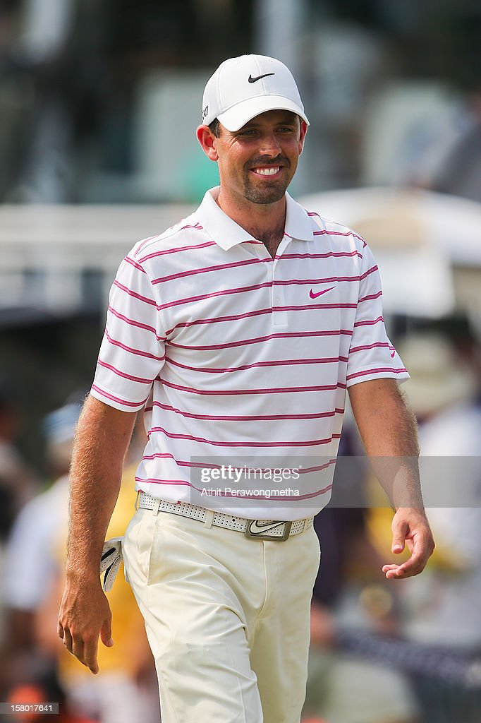 Charl Schwartzel of South Africa in action during round four of the Thailand Golf Championship at Amata Spring Country Club on December 9, 2012 in Bangkok, Thailand.