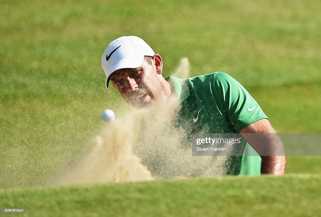 <a gi-track='captionPersonalityLinkClicked' href=/galleries/search?phrase=Charl+Schwartzel&family=editorial&specificpeople=213793 ng-click='$event.stopPropagation()'>Charl Schwartzel</a> of South Africa plays a bunker shot during the second round of the Tshwane Open at Pretoria Country Club on February 12, 2016 in Pretoria, South Africa.
