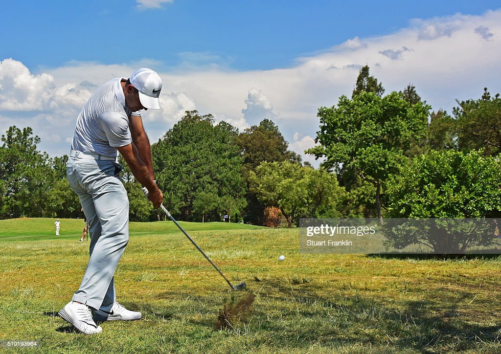 <a gi-track='captionPersonalityLinkClicked' href=/galleries/search?phrase=Charl+Schwartzel&family=editorial&specificpeople=213793 ng-click='$event.stopPropagation()'>Charl Schwartzel</a> of South Africa plays a shot during the final round of the Tshwane Open at Pretoria Country Club on February 14, 2016 in Pretoria, South Africa.