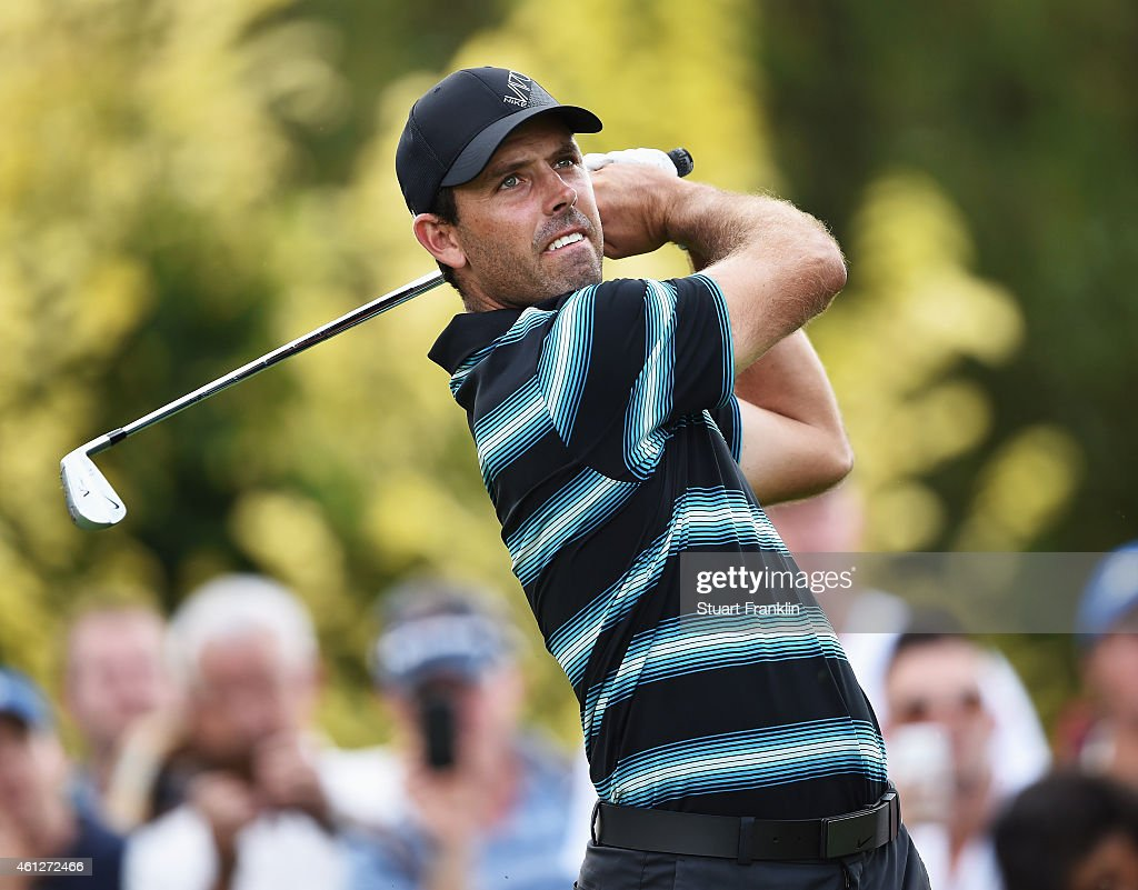 <a gi-track='captionPersonalityLinkClicked' href=/galleries/search?phrase=Charl+Schwartzel&family=editorial&specificpeople=213793 ng-click='$event.stopPropagation()'>Charl Schwartzel</a> of South Africa plays a shot during the third round of the South African Open at Glendower Golf Club on January 10, 2015 in Johannesburg, South Africa.