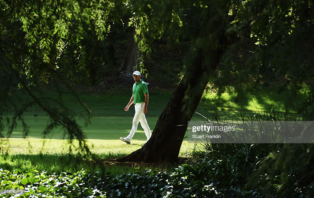 <a gi-track='captionPersonalityLinkClicked' href=/galleries/search?phrase=Charl+Schwartzel&family=editorial&specificpeople=213793 ng-click='$event.stopPropagation()'>Charl Schwartzel</a> of South Africa walks on during the second round of the Tshwane Open at Pretoria Country Club on February 12, 2016 in Pretoria, South Africa.