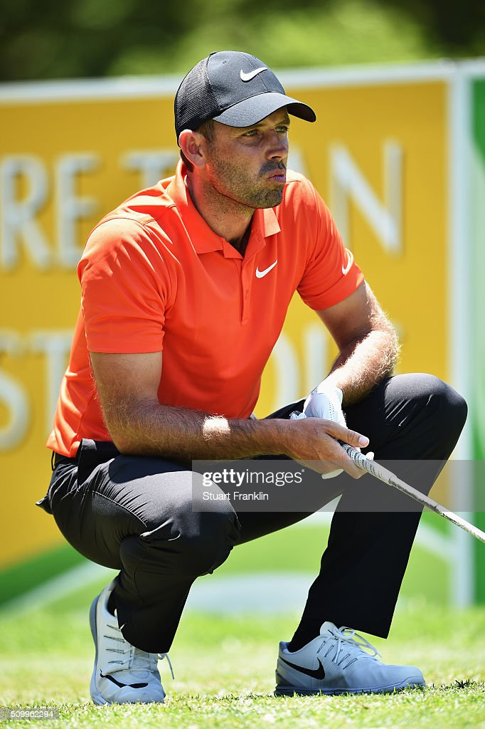 <a gi-track='captionPersonalityLinkClicked' href=/galleries/search?phrase=Charl+Schwartzel&family=editorial&specificpeople=213793 ng-click='$event.stopPropagation()'>Charl Schwartzel</a> of South Africa watches a shot during the third round of the Tshwane Open at Pretoria Country Club on February 13, 2016 in Pretoria, South Africa.