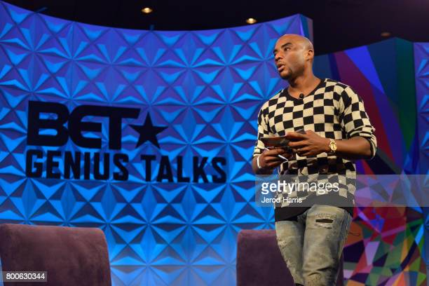 Charlamagne Tha God at day one of Genius Talks sponsored by ATT during the 2017 BET Experience at Los Angeles Convention Center on June 24 2017 in...