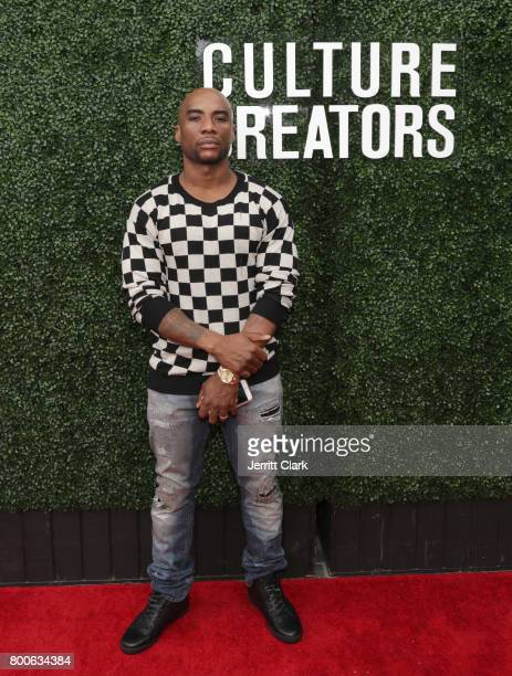 Charlamagne tha God attends Culture Creators 2nd Annual Awards Brunch Presented By Motions Hair And Ciroc at Mr C Beverly Hills on June 24 2017 in...