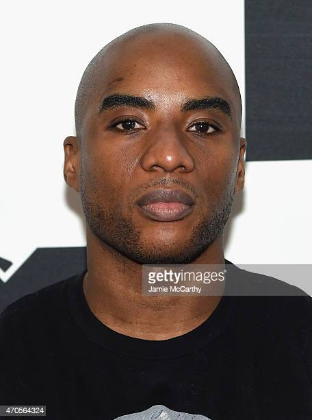 Charlamagne Tha God attends the MTV 2015 Upfront presentation on April 21 2015 in New York City