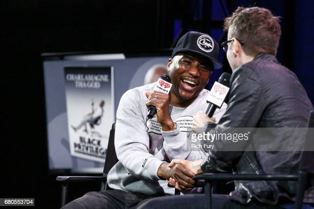 Charlamagne Tha God cohost of The Breakfast Club on New York's Power 1051 speaks with host Bobby Bones about his book 'Black Privilege Opportunity...