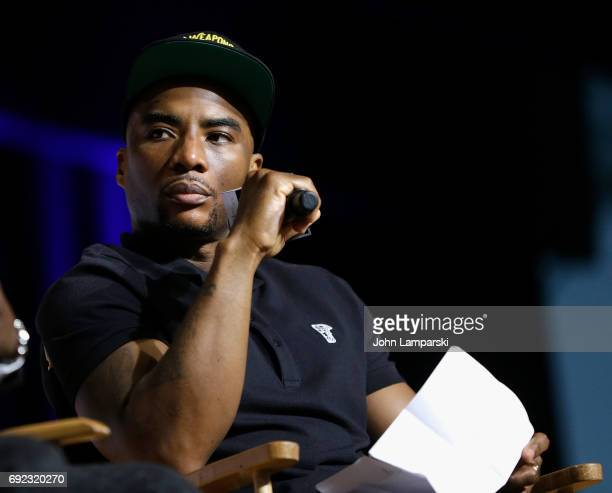 Charlamagne tha God speaks during the ' Kevin Hart LiveQ and A at BookCon 2017 at Javits Center on June 4 2017 in New York City