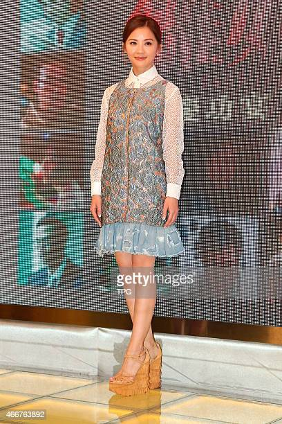 Charlene Choi celebrates the success of Que Sera Sera on 17th March 2015 in Hongkong China