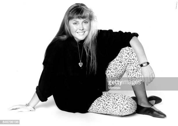 Charlene Fenn Actress from the Australian Sopa Neighbours April 1988