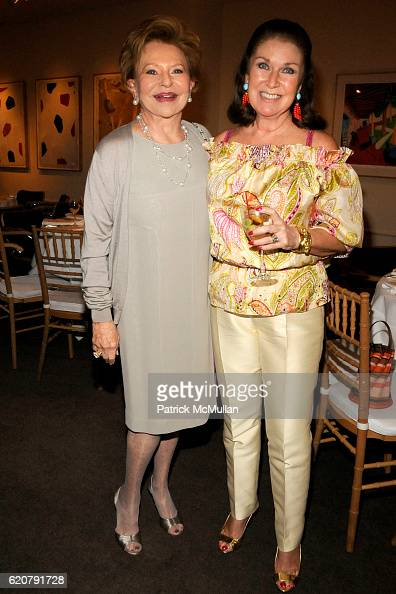 Charlene Neiderlander and Sharon Sondes attend 'PARTY FAVORS' by Nicole Sexton Book Release Party at Michael's on July 29 2008 in New York City
