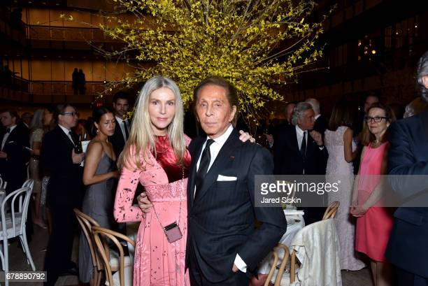 Charlene Shorto and Valentino Garavani attend the New York City Ballet 2017 Spring Gala at David H Koch Theater Lincoln Center on May 4 2017 in New...