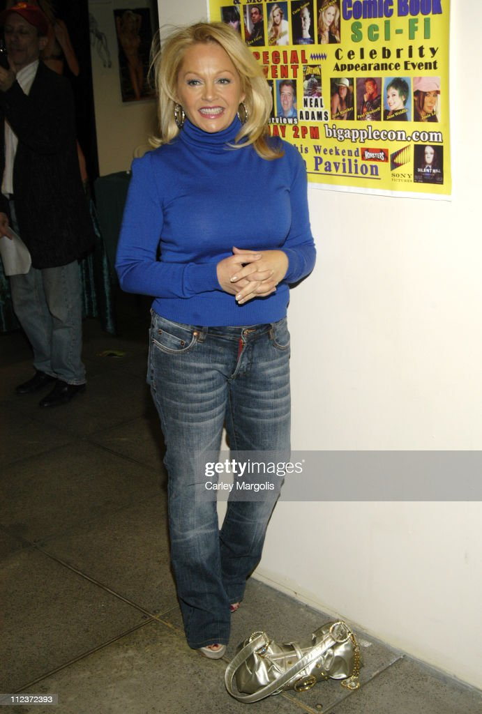 <a gi-track='captionPersonalityLinkClicked' href=/galleries/search?phrase=Charlene+Tilton&family=editorial&specificpeople=216512 ng-click='$event.stopPropagation()'>Charlene Tilton</a> during 2006 Big Apple Comic Book, Art, Toy and Horror Expo - Press Reception at Penn Plaza Pavilion in New York City, New York, United States.
