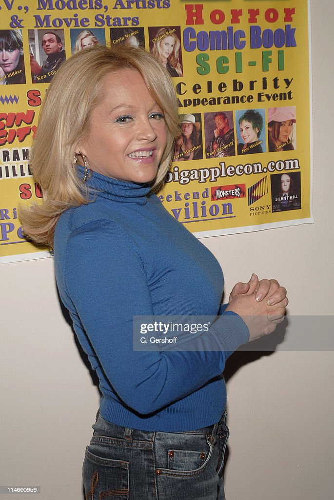 <a gi-track='captionPersonalityLinkClicked' href=/galleries/search?phrase=Charlene+Tilton&family=editorial&specificpeople=216512 ng-click='$event.stopPropagation()'>Charlene Tilton</a> during 2006 Big Apple Comic Book Convention - Press Reception at Penn Plaza Pavilion in New York City, New York, United States.