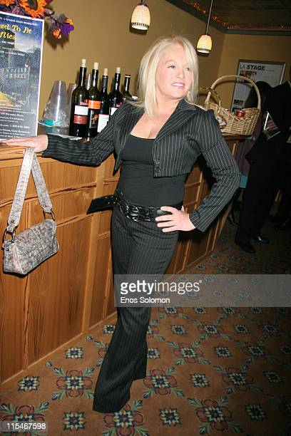 Charlene Tilton during ''There Used To Be Fireflies'' Opening Night January 20 2007 at Play Opening in Los Angeles California United States