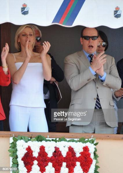 Scheuffele (L) Eva Herzigova and Fawaz Gruosi (R) attend the singles ...