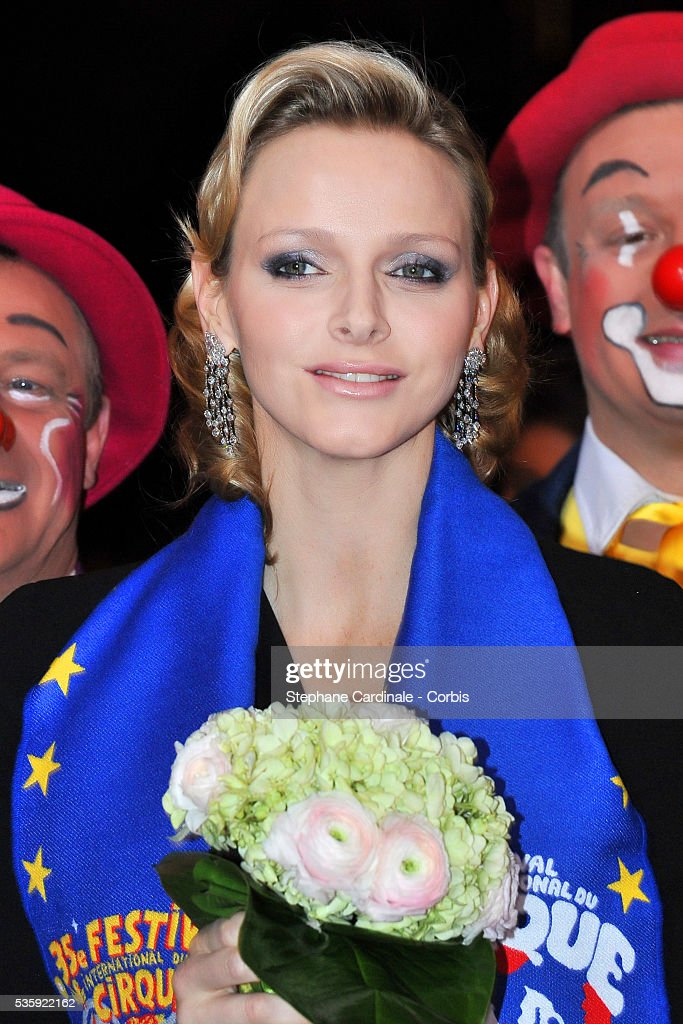 Charlene Wittstock attends the Gala Ceremony of the Monte-Carlo 35th International Circus Festival 2011.
