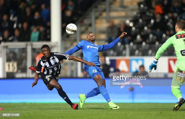 20170505 Charleroi Belgium / Sporting Charleroi v Club Brugge Clinton MATA Jose IZQUIERDO / Jupiler Pro League PlayOff 1 Matchday 7 at the Pays de...
